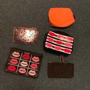 Makeup cosmetic bags